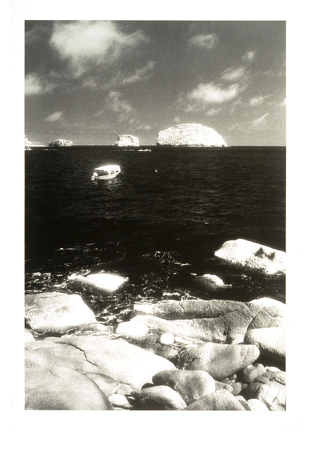 Black And White Photograph - Mexican Seascape by Jerry McElroy