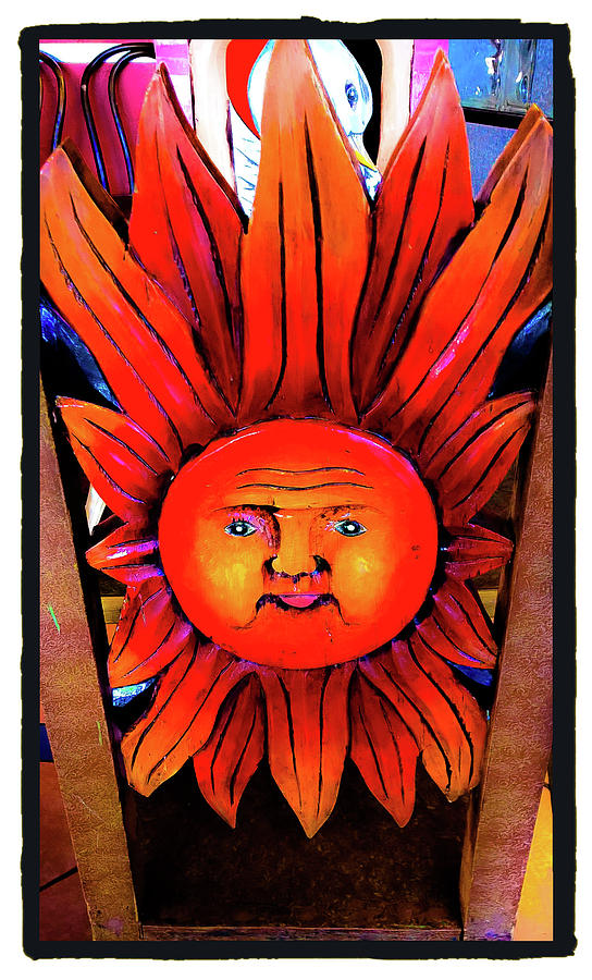 Mexican Sun Photograph - Mexican Sun by Shirley Anderson