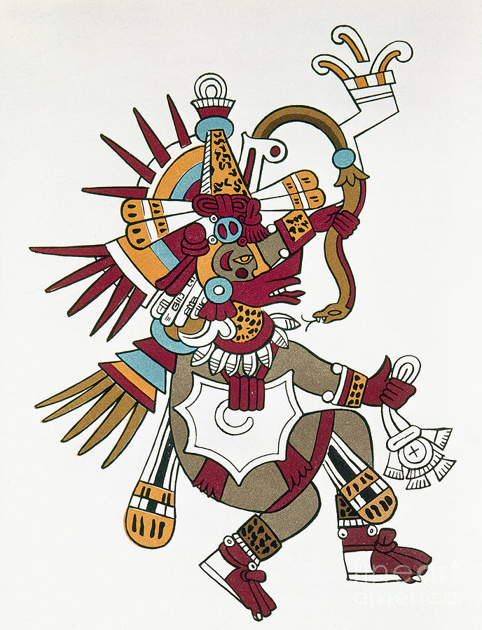 1500 Photograph - Mexico: Quetzalcoatl by Granger