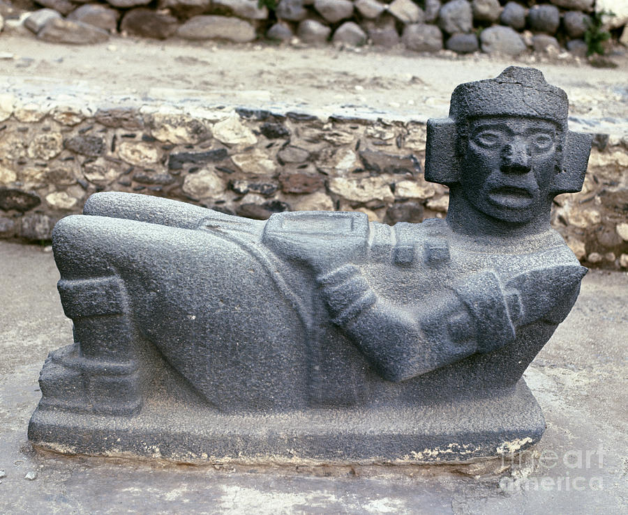 10th Century Photograph - Mexico: Toltec Altar by Granger