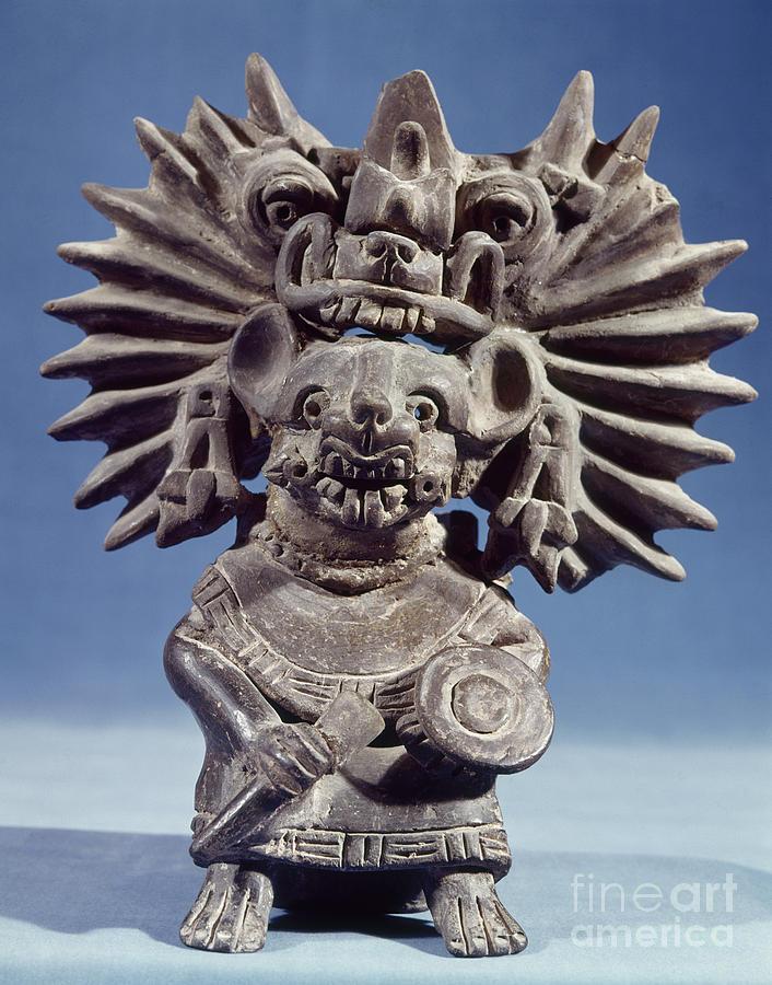100 Photograph - Mexico: Vampire Goddess by Granger
