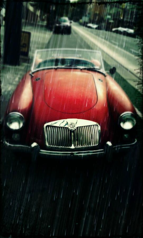 Vintage Mg Photograph - MG by Cathie Tyler