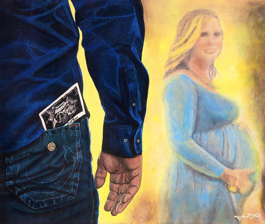 Mother Painting - Mi Fili by Jason McKeel