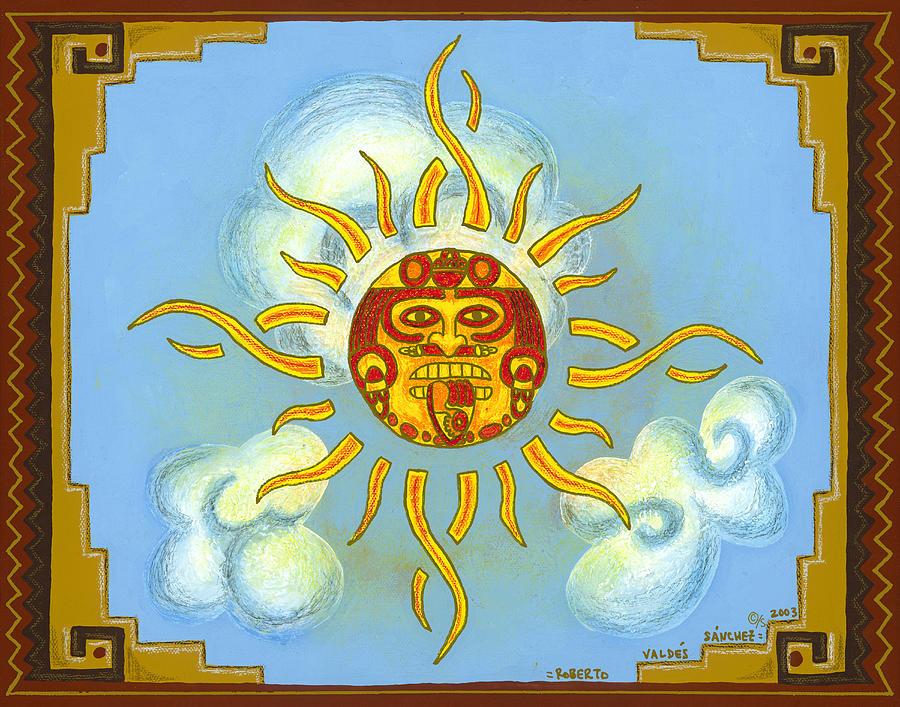 Mexico Painting - Mi Sol by Roberto Valdes Sanchez