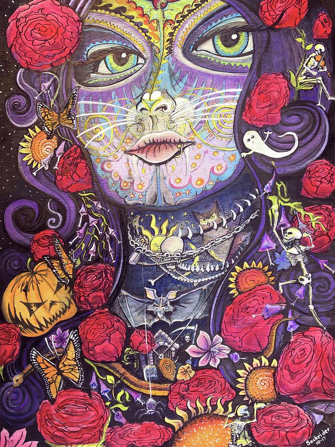 Mia De Los Muertos by David Sockrider