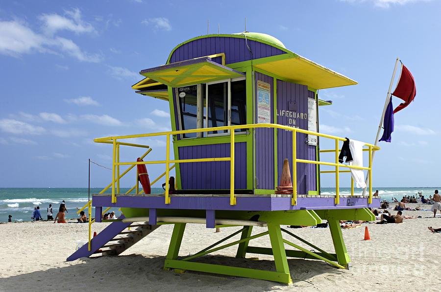 Miami Beach Photograph - Miami Beach by Bob Christopher