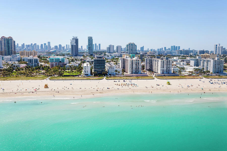 Miami Beach Photograph by Lorrie Joaus