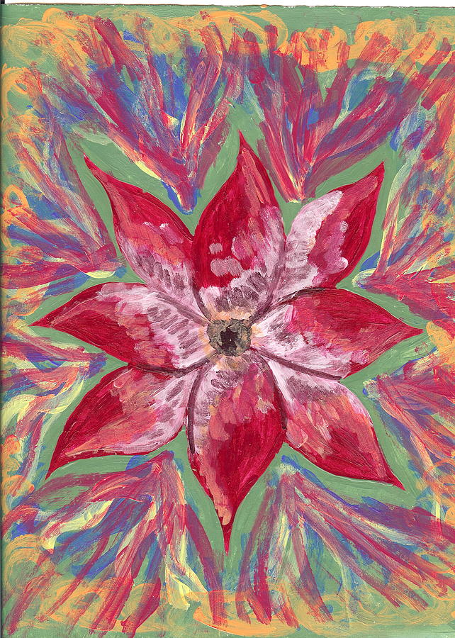 Flower Painting - Miami by Laura Lillo