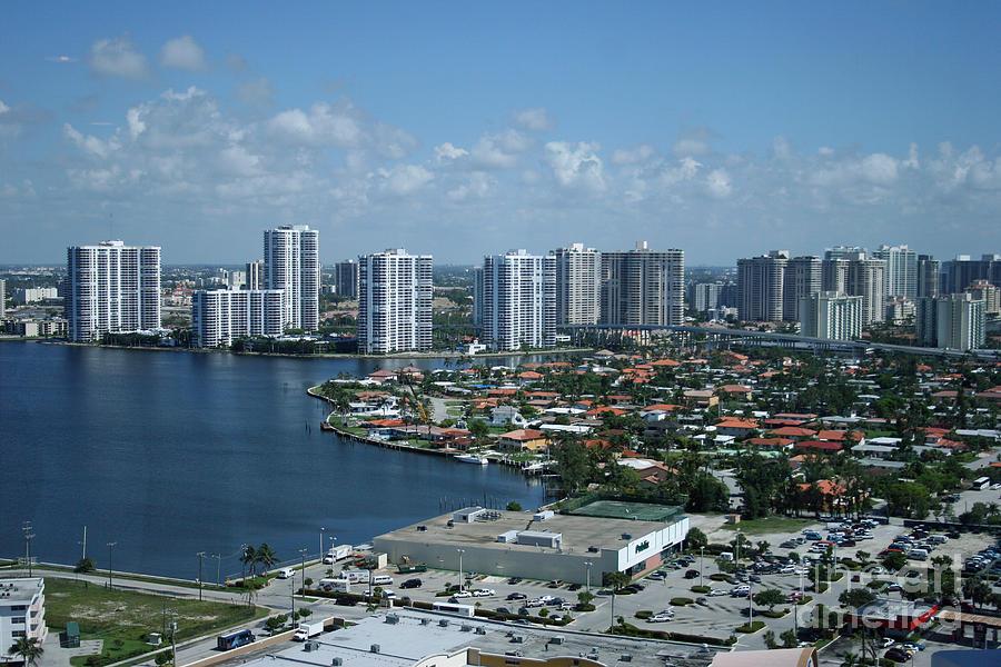 Miami Skyline Photograph