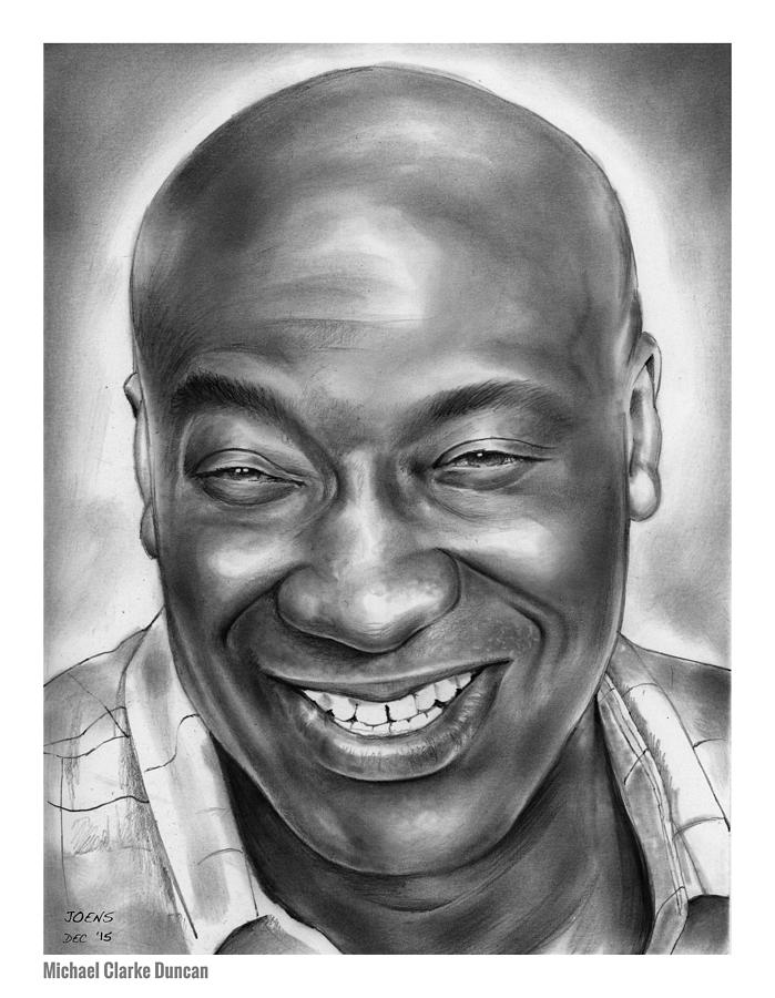 Michael Clarke Duncan Drawing