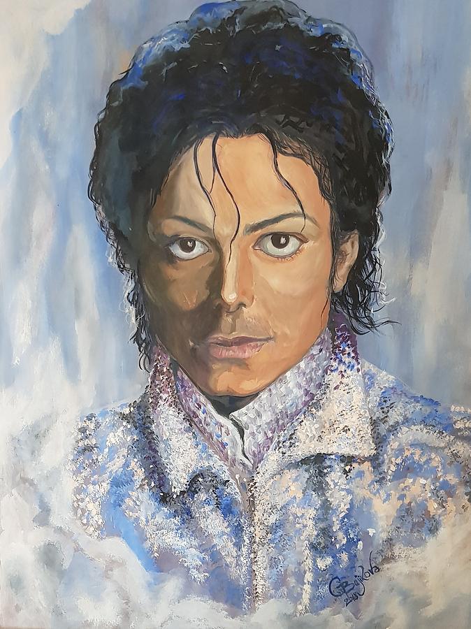 Michael Painting by Gergana Bojikova