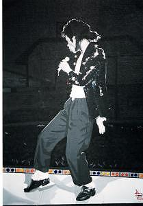 Michael Jackson Painting by David Ellis