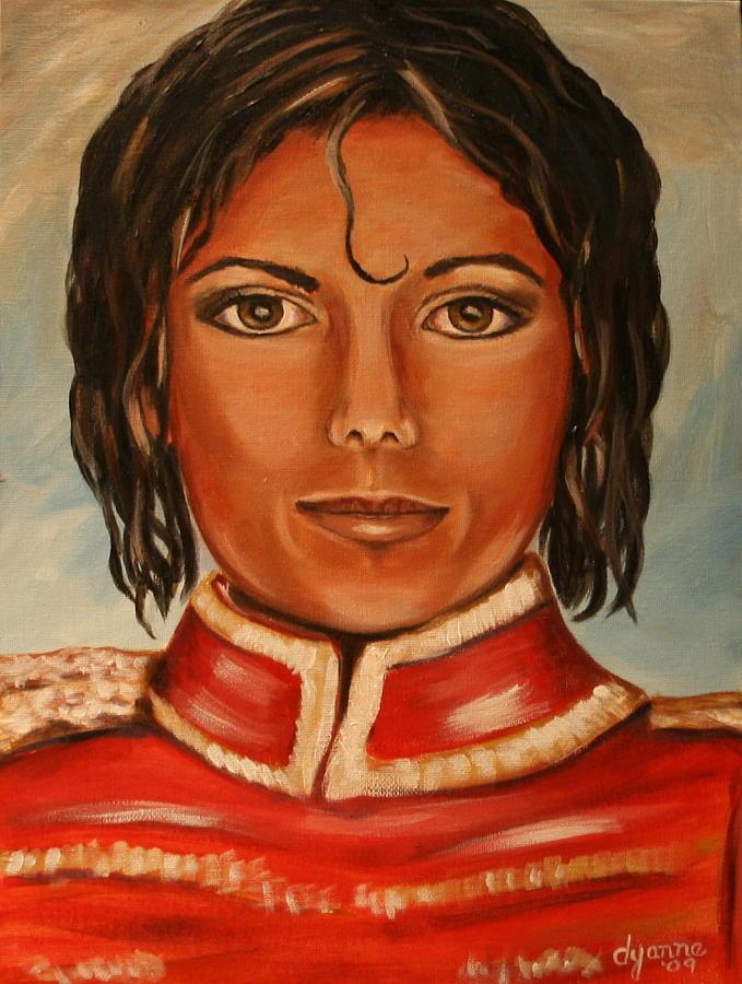 Michael Jackson Painting - Michael Jackson by Dyanne Parker