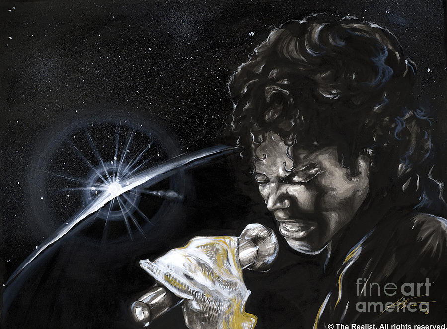 Legends Painting - Michael Jackson by Keith  Thurman