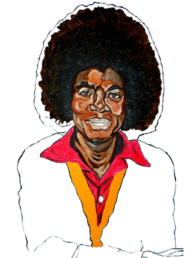 Michael Jackson Painting - Michael Jackson Off The Wall by Michael Fields
