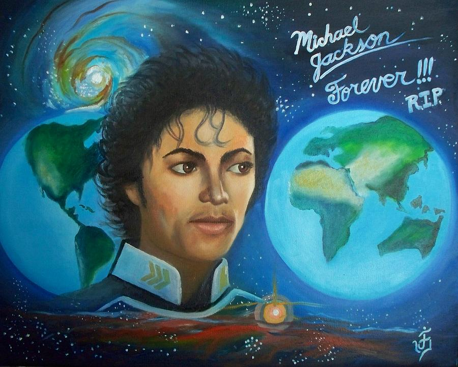 Portrait Painting - Michael Jackson Portrait. by Jose Velasquez