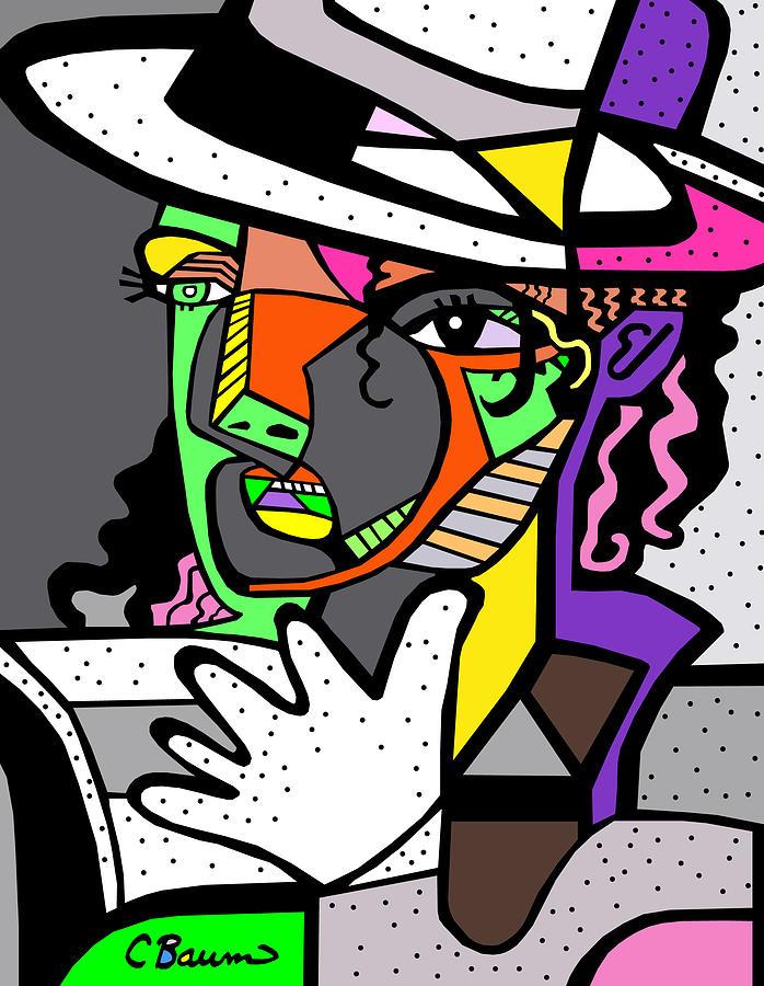 Michael Jackson Painting - Michael Jackson Poster by C Baum