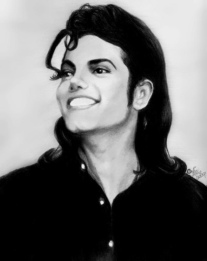 Michael Jackson Smile Drawing By Carliss Mora