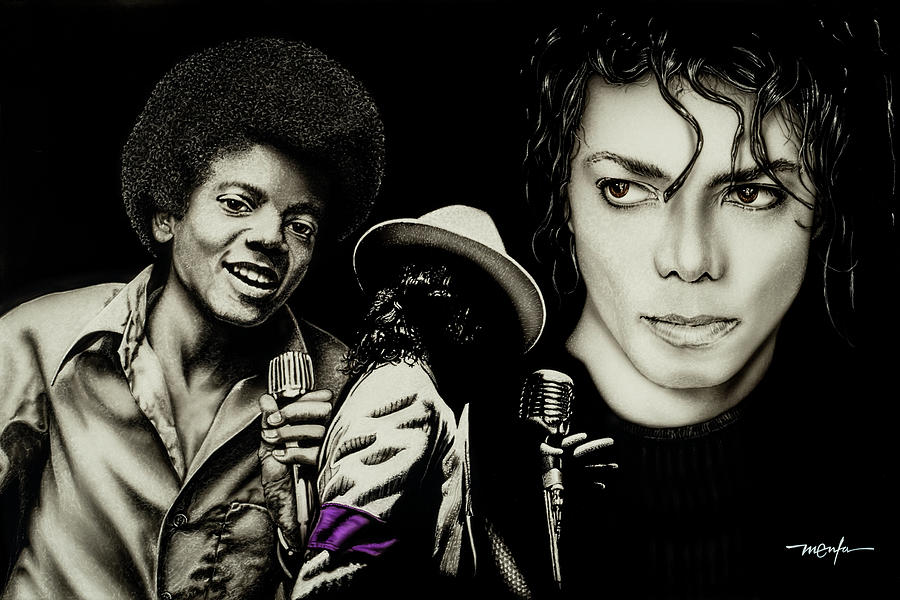 MICHAEL JACKSON - THE MAN IN THE MIRROR by Dan Menta