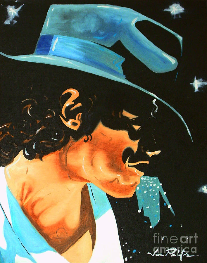 Michael Jackson Painting - Michael Jackson This Is It by Joseph Palotas