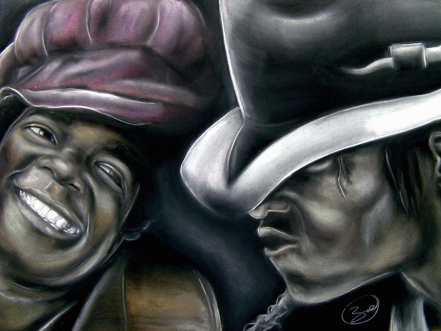 Michael Drawing - Michael Jackson by Zach Zwagil