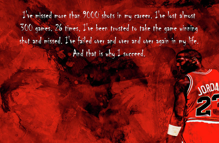 Michael Jordan Motivation Quote 23c