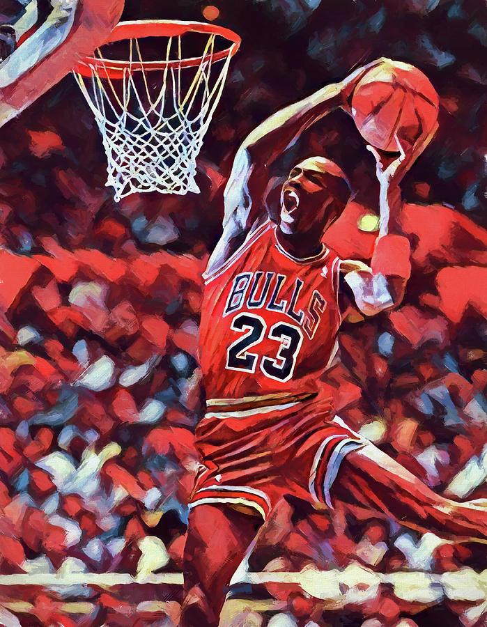 big sale 9e5ee 64494 Michael Jordan Slam Dunk