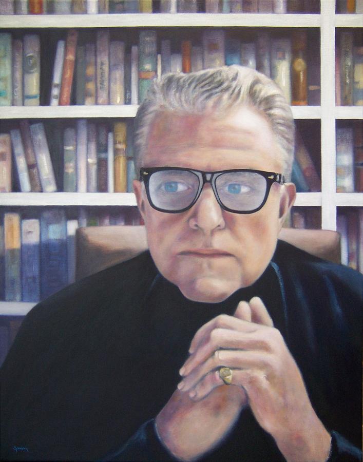 Man Painting - Michael L. Grace by Scott Spencer