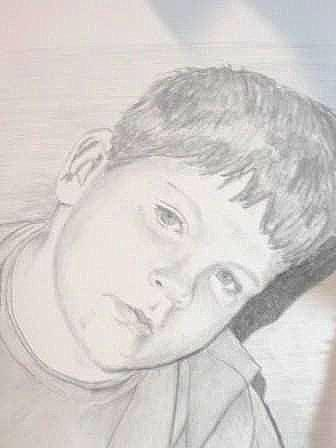 Child Drawing - Michael by Suzan Tisdale