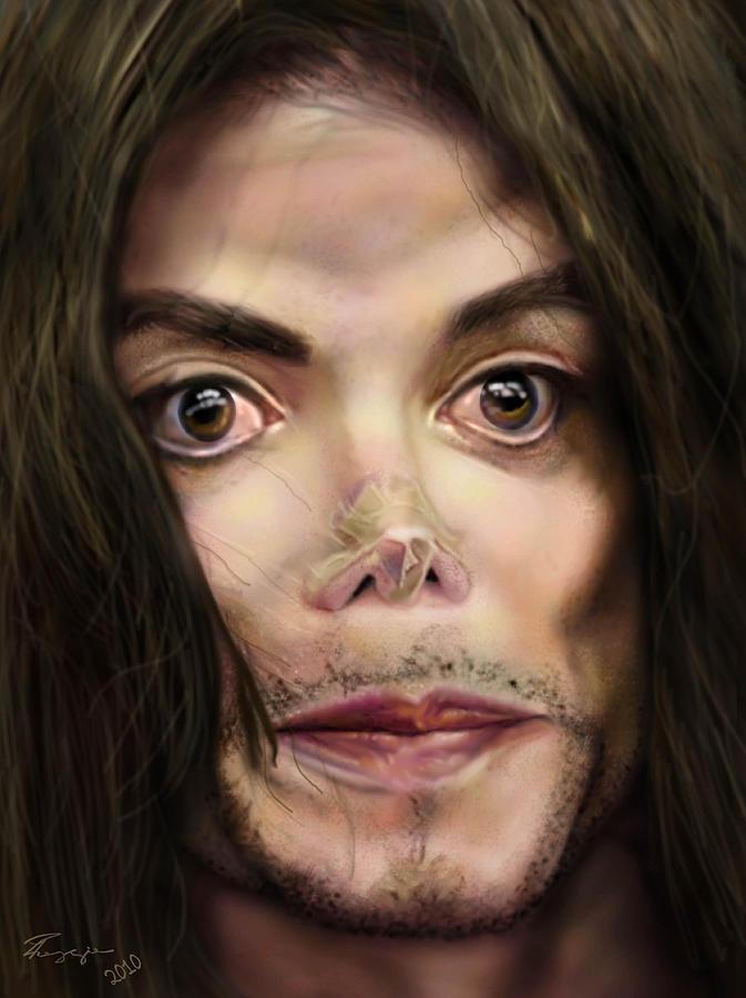 Michael Jackson Painting - Michaels Magnum Opus 1 by Reggie Duffie