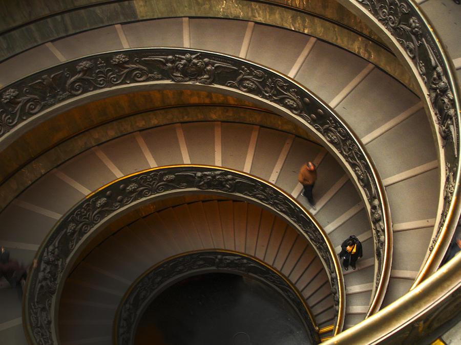 Michelangelo's Spiral Stairs by Jed Holtzman