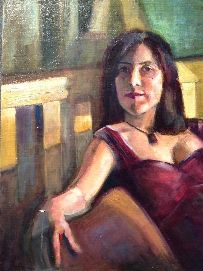 Mici Painting by Cynthia Mozingo