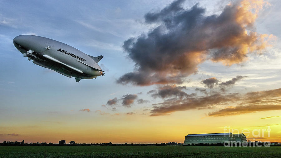 Airlander 10 Airship UK by Mick Flynn