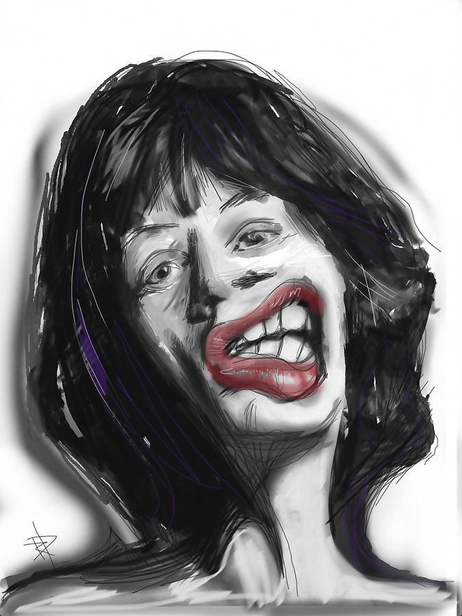 Mick Digital Art - Mick by Russell Pierce