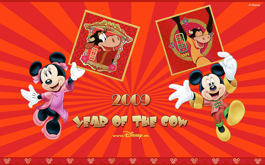 Card Digital Art - Mickey Mouse And Friends by Dorothy Binder