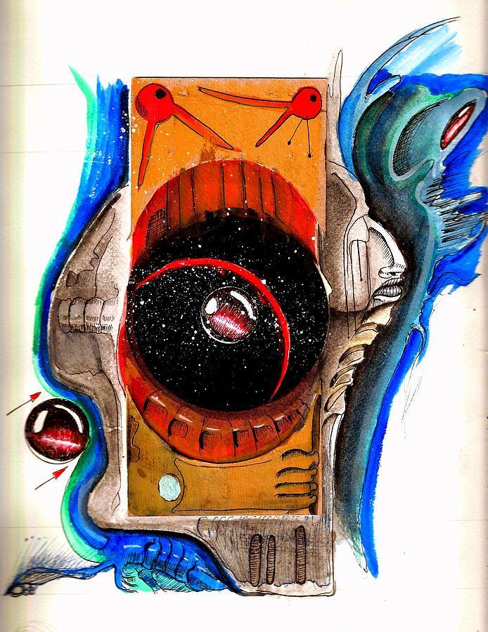 Microcosm Mixed Media by Gabriel Hernandez