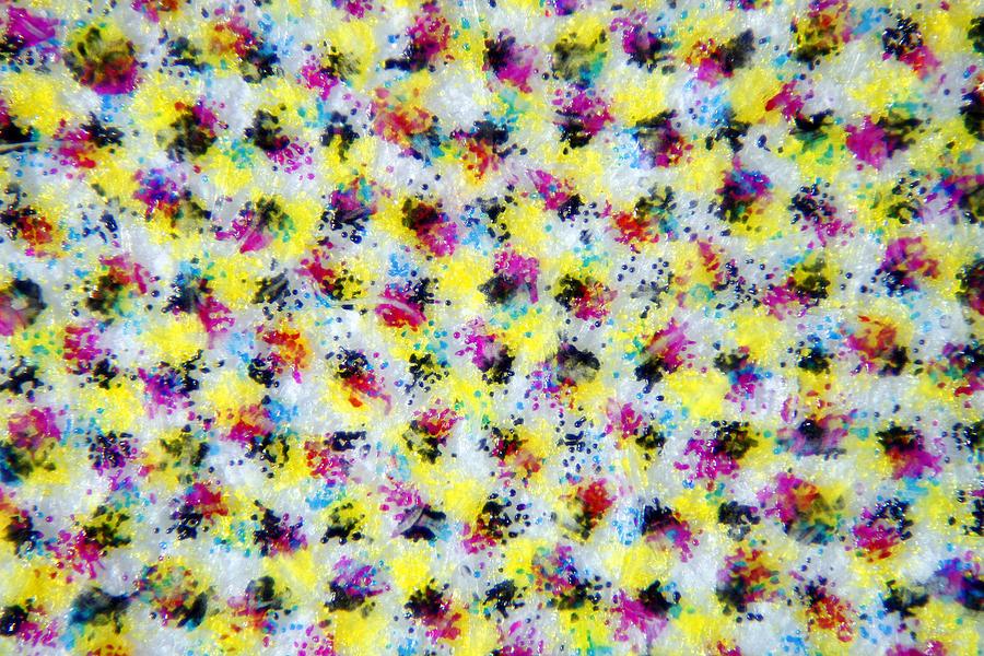 Printing Photograph - Microscopic Print 002 by Marcus Kett