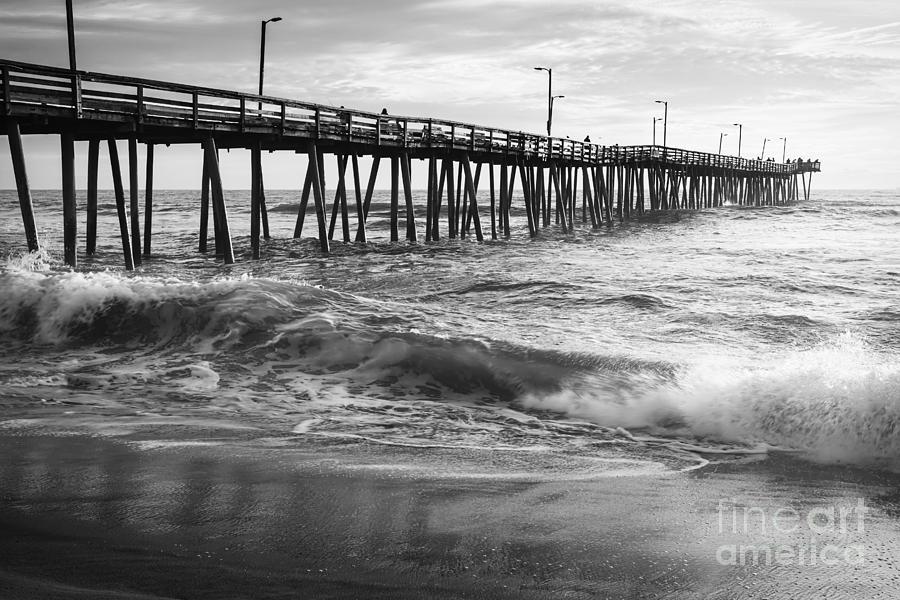 Hampton Roads Photograph - Mid September At The Pier by Lisa McStamp