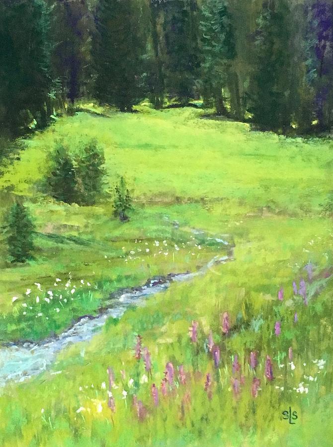 Mid-Summer Meadow by Sandra Lee Scott