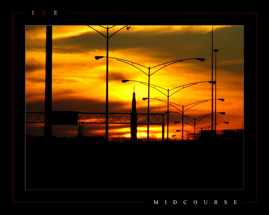 Rocket Photograph - Midcourse by Jonathan Ellis Keys