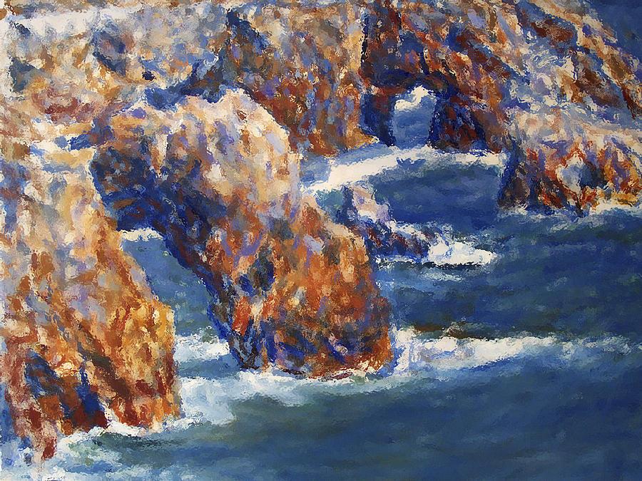 Sea Painting - Midday 2 by Valeriy Mavlo