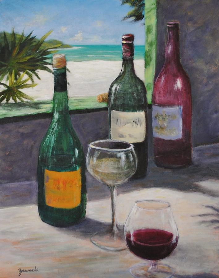 Midday Wine by Alan Zawacki