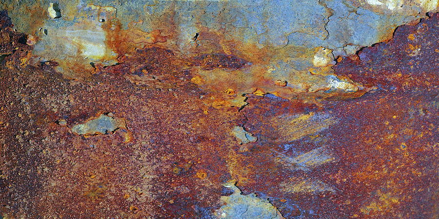 Rust Photograph - Middle East Burning by Rainer Stark