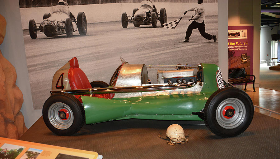 Auto Photograph - Midget At America On Wheels by Mike Martin