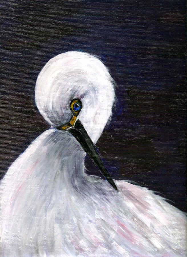Nature Painting - Midnight Beauty by Dalila Jasmin