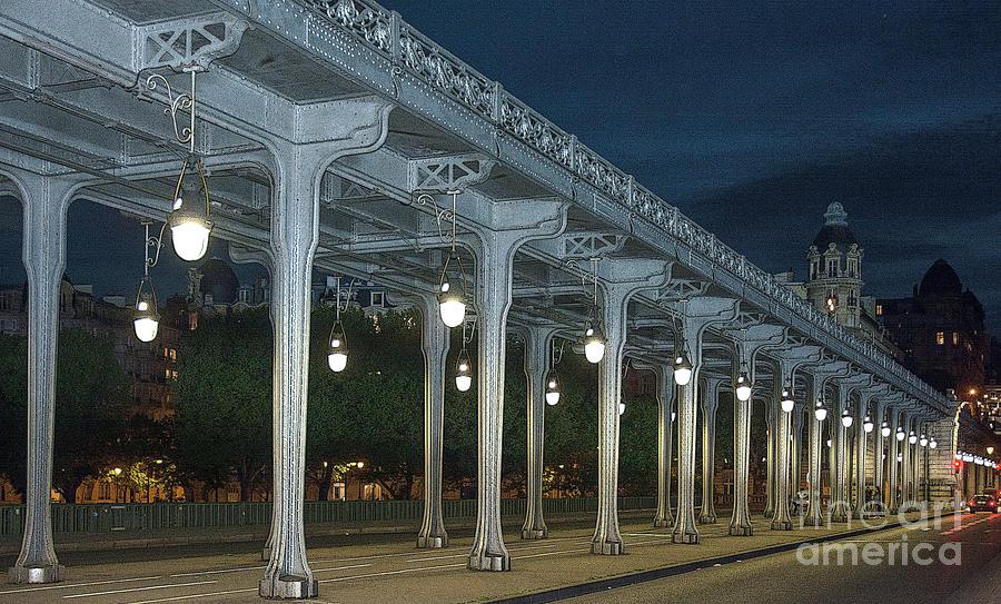 Midnight in Paris - Stylized 2 by Tim Mulina