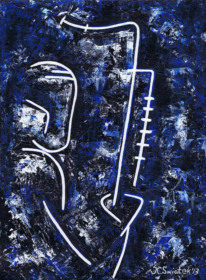 Midnight Blue Painting - Midnight Jazz With Ben Webster by Kamil Swiatek