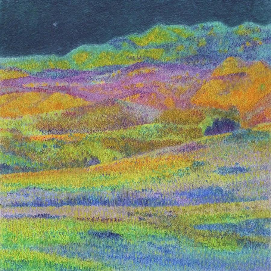 North Dakota Painting - Midnight Magic Dream by Cris Fulton