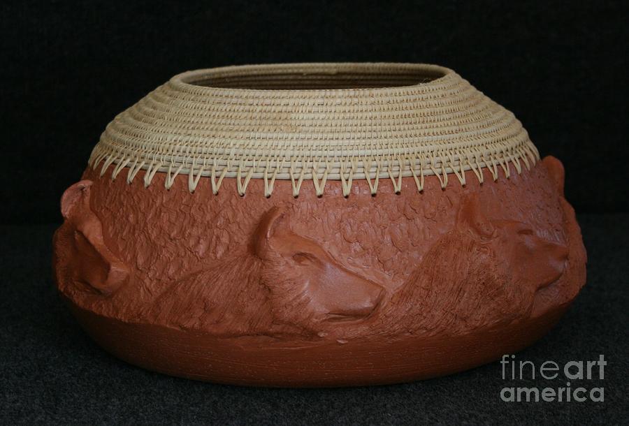 Pottery Mixed Media - Midnight Run by Darlene Ryer