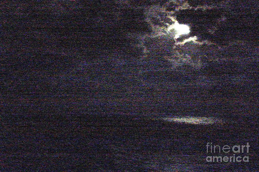 Crescent Photograph - Midnight by Priscilla Richardson